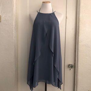 BCBGeneration Halter Mini Dress